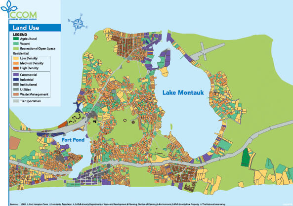 Land Use Around Lake Montauk