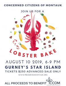 Lobster Bake flyer